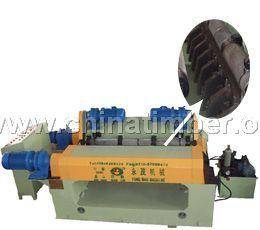 BQ1813SH型数控无卡轴旋切机(液压夹刀)