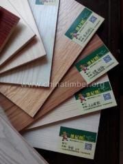 杨桉芯家具板 免漆多层实木板 环保E0家具板