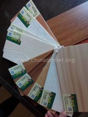 全桉芯三聚氰胺板材E1环保