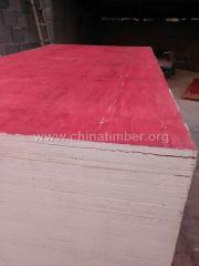 建筑模板14mm红板