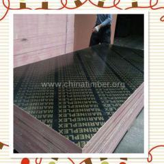 18厘黑膜模板防水房屋建筑用覆膜板