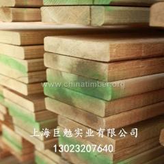 樟子松防腐板材