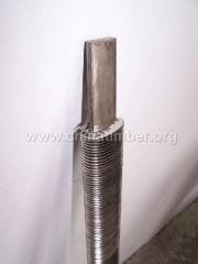 镍基钎焊渗层椭圆翅片管