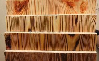 免漆炭化拉丝水曲柳木饰面板