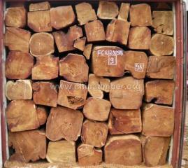 非洲缅茄木原木