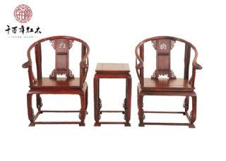 红酸枝家具 古典皇宫椅