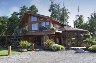 木结构房子 休闲度假小木屋