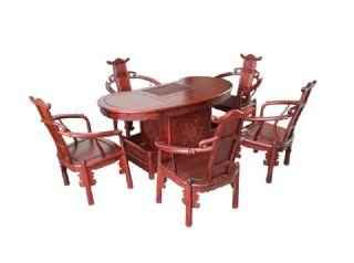 红酸枝 腰形茶台