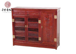 红酸枝家具 古典多宝柜