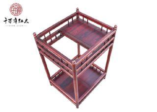 红酸枝家具 古典茶架