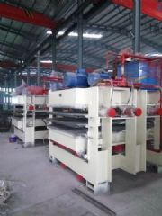 三压二全自动木工板生产线热压机沭阳机械厂家细木工板