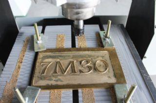 供应铜标牌广告雕刻机