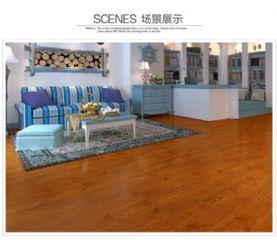 纯实木地板凭栏秋思河南晨曦装饰材料实木地板品牌
