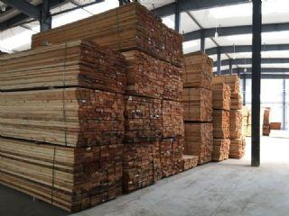 樟子松半成品1-3级板材烘干板