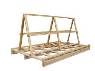 厂家直销各种尺寸的玻璃木架,卡板