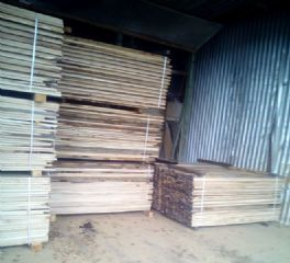 欧洲白橡天干板材