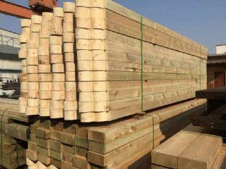 厂家直销樟子松防腐木,碳化木,樟子松常规料