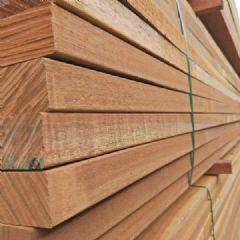 金丝柚木柱子古建景观木材 木栈道板材加工厂韵桐一手