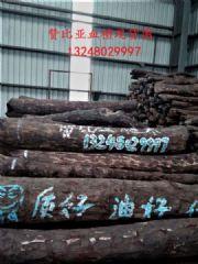 供应赞比亚血檀原木