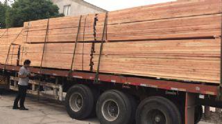 绍兴辐射松方木厂家直销