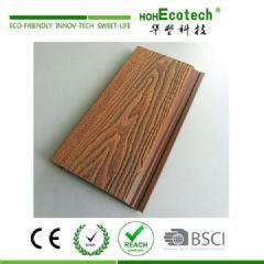 塑木墙板 wpc 塑木深压纹混色护墙板批发 生态木
