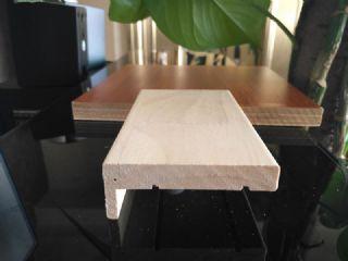 纯橡胶木门套线