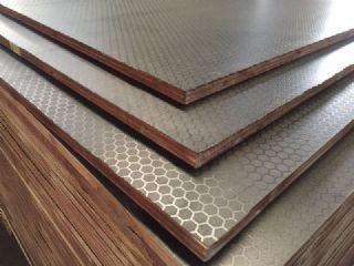 高端防滑蜂窝型覆膜板