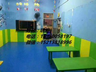 燕郊硕驰幼儿园拼图PVC墙贴