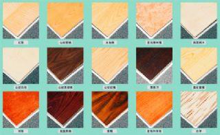 供应E1级 鸡翅木纹免漆饰面板 橱柜板 环保家居板
