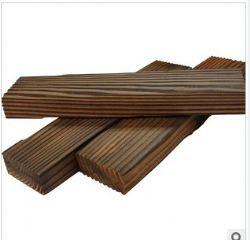 上海厂家赤松云杉扣板防腐碳化木