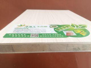 杨木大方厚筋新料生态板