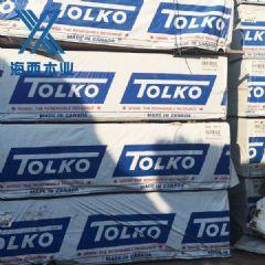 进口SPFTOLKO加松优质托扣板材建筑模板木材