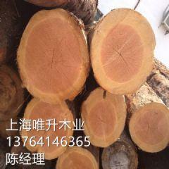 宁夏花旗松碳化木板材 户外防腐木方