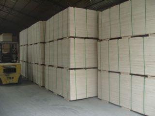 厂家直销 胶合包装板 多层板,7mm厚 单面贴桃花