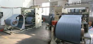 PE蓄电池隔膜挤出生产线机械设备