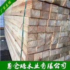 奥松木板材 辐射松木方 松木实木板材 木材批发厂家