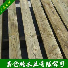 厂家樟子松防腐木 圆柱木 木方实木 各类防腐板材批