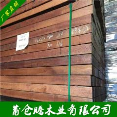 烘干印尼菠萝格家具木板材 小别墅专用木材料 菠萝格