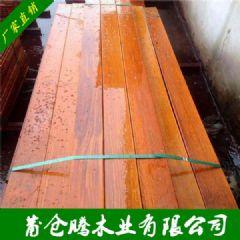 非洲菠萝格户外木板材 菠萝格防腐木建筑木材 非洲菠