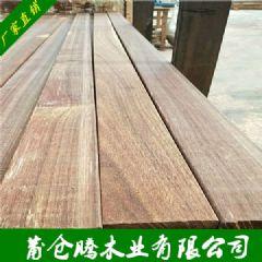 南美菠萝格户外木板材 菠萝格防腐木建筑木材 菠萝格