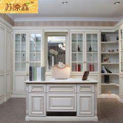 无锡实木家具 实木书柜