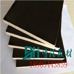 杨木覆膜板桃花芯杨木覆膜板耐腐蚀不起层博汇胶合板