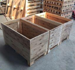 广州厂家定制大型机械设备包装木箱胶合板免熏蒸免检包