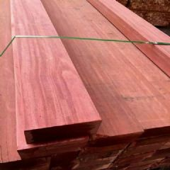 现货批发柳桉木古建地板料