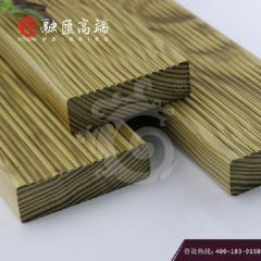 上海融汇高端南方松无节地板防滑槽