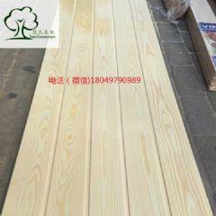 木材加工云杉扣板云杉高品质实木板