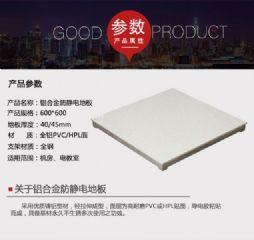东莞铝合金防静电地板