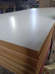 刨花板 贴面刨花板 免漆颗粒板生产工厂