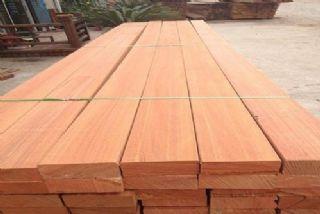 进口硬木柳桉木进口加工