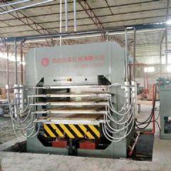 浙江新一代竹工艺板多层热压机正式上市